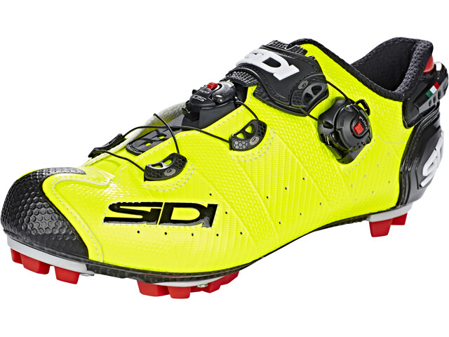 Sidi MTB Drako 2 SRS Shoes Herre yellow fluo/black